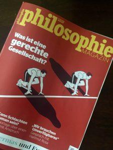 Cover Zeitschrift Was ist eine gerechte Gesellschaft